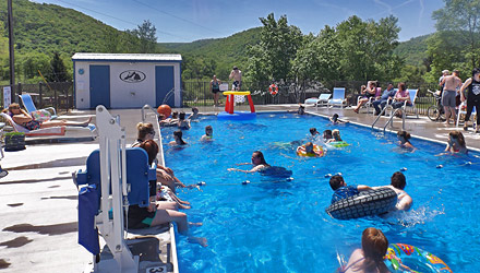 Allegheny river campground camping in potter county pa - Campgrounds in ohio with swimming pools ...